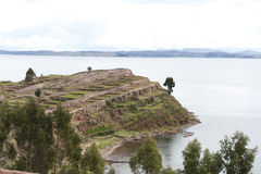 taquile的海岛 库存照片