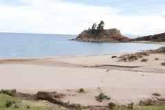 taquile的海岛 免版税库存照片