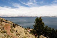 taquile titicaca του Περού λιμνών νησιών Στοκ Εικόνα