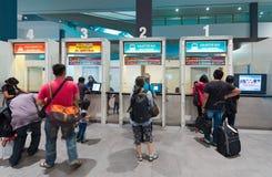 Taquilla del autobús en Kuala Lumpur International Airport 2 Foto de archivo libre de regalías