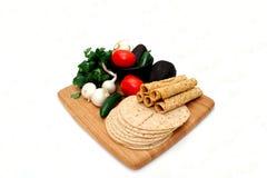 taquitoes tortillas veggies Στοκ Φωτογραφίες