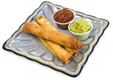 Taquitos - clipping path included Royalty Free Stock Images