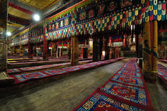 Tar喇嘛寺院 免版税库存照片