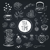 Tar time objects Royalty Free Stock Images