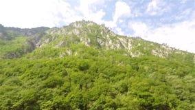 Tara berglandschap stock footage