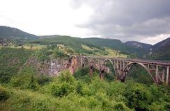Tara bridge,  Montenegro. Stock Image