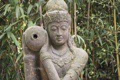 Tara Buddhist Goddess bianca di pietà e della longevità immagini stock