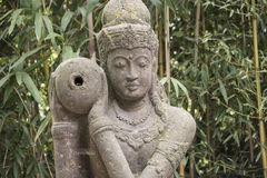 Tara Buddhist Goddess blanca de la compasión y de la longevidad imagenes de archivo