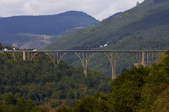 Tara Canion - Montenegro Royalty-vrije Stock Fotografie
