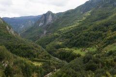 Tara canyon, Montenegro. stock photography