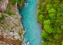 Tara-Fluss, Montenegro lizenzfreies stockbild