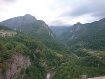 Tara kanjon Royaltyfri Bild