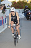 Tara Norton Racing in the Arizona Ironman Triathlo Royalty Free Stock Images