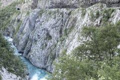 Tara River Canyon Photo libre de droits