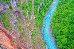 Tara River Canyon Foto de archivo