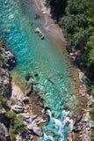 Tara river canyon Stock Image