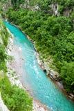 Tara River Canyon, Montenegro Stock Image