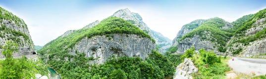 The Tara river canyon, Montenegro Stock Photography