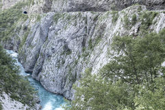 Tara River Canyon royalty free stock photo