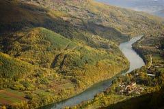 Tara and river Drina Stock Photography
