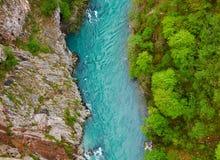 Tara river, Montenegro. View from Tara river,Durmitor National Park, Montenegro Royalty Free Stock Image