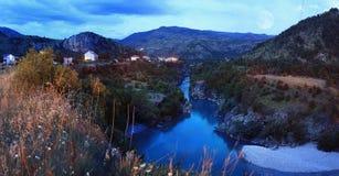 The Tara River stock photography