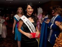 Tara Talbot, Rose of Tralee 2011 Royalty Free Stock Photo