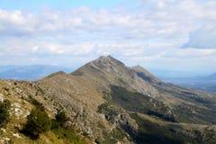 Tarabos. Montenegro Albania mountains historical wild beauty nature stock photo