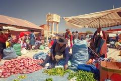 Tarabuco Bolivia - September 11, 2016 Fotografering för Bildbyråer