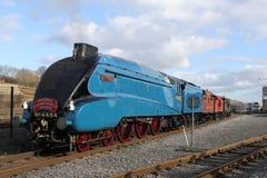 Tarabuso del treno a vapore A4 fotografia stock libera da diritti