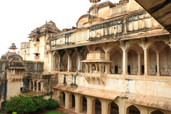 Taragarh fort bundi india. One of the best forts in india, still standing regally atop a hill containing ancient monuments and ruins and a palace Stock Image