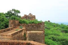 Taragarh fort bundi india Royalty Free Stock Photo