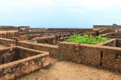 Taragarh fortbundi Indien Arkivbilder