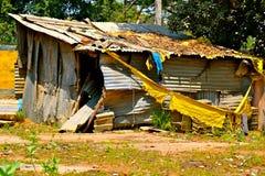 Tarahumara alloggia la povertà Fotografie Stock Libere da Diritti