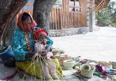 Tarahumara feito a mão fotografia de stock royalty free