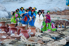 Tarahumara's handicraft. Mexico Stock Photo