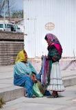 Tarahumaras kvinnor Arkivbild