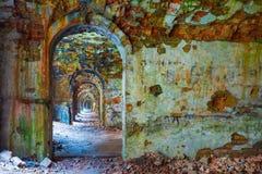 tarakanov fortress ruin Stock Photography
