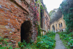 Tarakanov fortress ruin Stock Photos