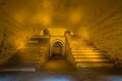 Tarakanov fortress ruin Stock Photo