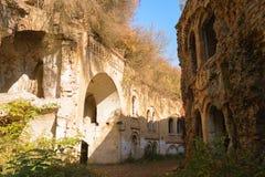 Tarakanovskiy-Fort, Ukraine lizenzfreie stockbilder