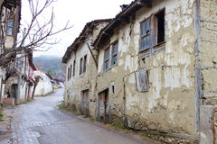 Tarakli, Turkey. A Street from Tarakli, Turkey Royalty Free Stock Photo