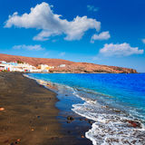 Taralejo beach Fuerteventura at Canary Islands Stock Photos