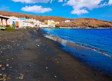 Taralejo beach Fuerteventura at Canary Islands Stock Photography