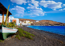 Taralejo beach Fuerteventura at Canary Islands Royalty Free Stock Photo