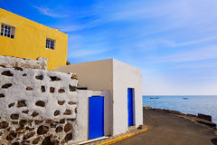 Taralejo beach Fuerteventura at Canary Islands Stock Image