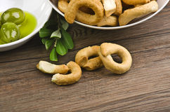 Taralli Royalty Free Stock Image
