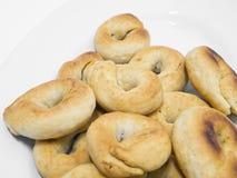Taralli. Alimento italiano. foto de archivo libre de regalías
