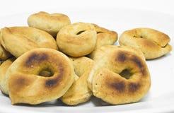 Taralli. Alimento italiano. imágenes de archivo libres de regalías