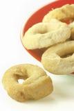 Taralli bagels Fotografia Royalty Free